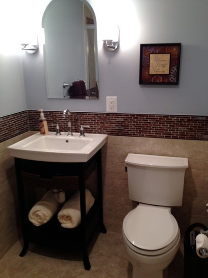 Hwrenewal redesign rebuild renew for Small two piece bathroom ideas